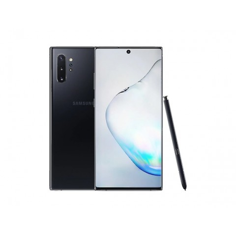 "SMARTPHONE SAMSUNG GALAXY NOTE 10 SM N970F DUAL SIM 6.3"" DYNAMIC AMOLED 256 GB OCTA CORE 4G LTE WIFI ANDROID REFURBISHED AURA BLACK"