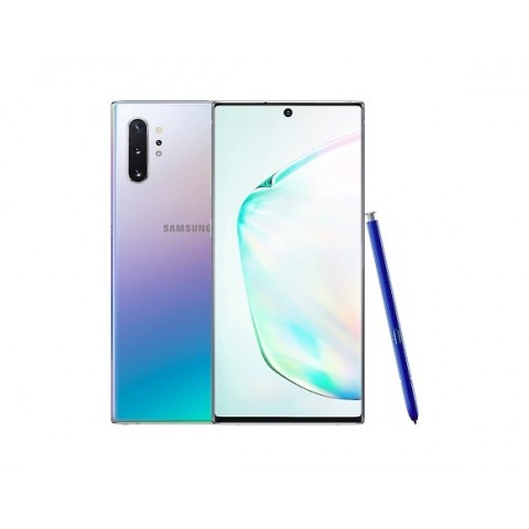 "SMARTPHONE SAMSUNG GALAXY NOTE 10 PLUS SM N975F DUAL SIM 6.8"" DYNAMIC AMOLED 512 GB OCTA CORE 4G LTE WIFI ANDROID REFURBISHED AURA GLOW"
