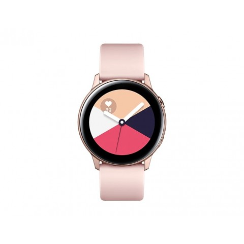 "SMARTWATCH SAMSUNG GALAXY WATCH ACTIVE SM R500 (TAGLIA S) 1.1"" SUPER AMOLED 4 GB DUAL CORE WIFI BLUETOOTH NFC REFURBISHED ROSE GOLD"