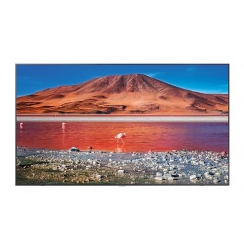 "TV 70"" SAMSUNG UE70TU7190 LED SERIE 7 2020 4K ULTRA HD SMART WIFI 2000 PQI HDMI USB CARBON SILVER REFURBISHED SENZA BASE CON STAFFA A MURO"
