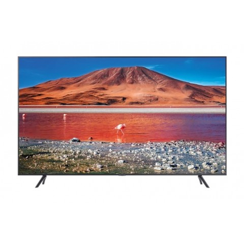 "TV 50"" SAMSUNG UE50TU7170 LED SERIE 7 2020 CRYSTAL 4K ULTRA HD SMART WIFI 2000 PQI HDMI USB REFURBISHED CARBON SILVER"