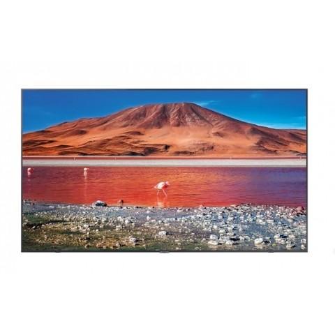 "TV 65"" SAMSUNG UE65TU7170 LED SERIE 7 2020 CRYSTAL 4K ULTRA HD SMART WIFI 2000 PQI HDMI USB CARBON SILVER REFURBISHED SENZA BASE CON STAFFA A MURO"