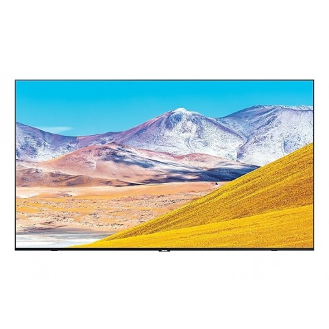 "TV 65"" SAMSUNG UE65TU8070 LED SERIE 8 2020 CRYSTAL 4K ULTRA HD SMART WIFI 2100 PQI USB HDMI REFURBISHED SENZA BASE CON STAFFA A MURO"
